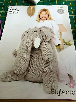 GIANT HEDGEHOG /& OWL TOYS KING COLE PATTERN 9018 THE PROF /&  Mr PRICKLES