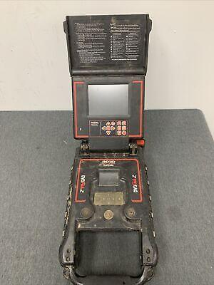Ridgid Seesnake Dvdpak2 Sewer Inspection Camera Monitor Dvd Pak2