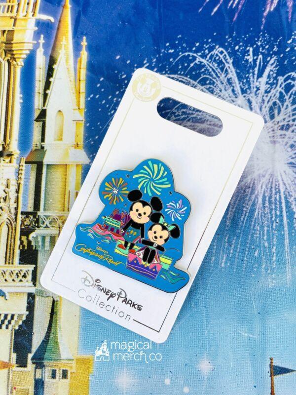 2021 Disney Parks Contemporary Resort Mickey & Minnie Mouse Mary Blair Pin