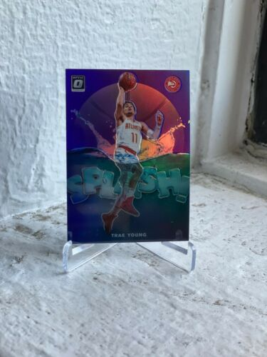 2019-20 DONRUSS OPTIC ATLANTA HAWKS TRAE YOUNG PURPLE SPLASH PARALLEL INSERT