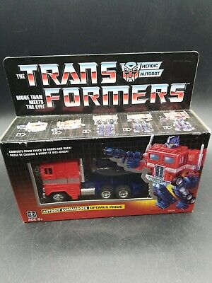 G1 Transformers Optimus Prime  Walmart Exclusive Reissue New