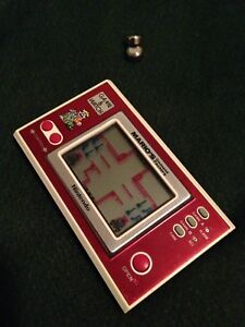 Game & watch mario cement vintage nintendo