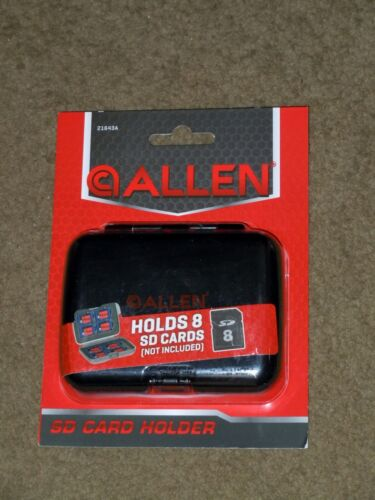 Allen SD Card Holders Cases Holds 8 SD Memory Cards