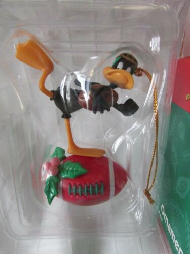 "1999 LOONEY TUNES NIB ""DAFFY DUCK"" CHRISTMAS TREE ORNAMENT"