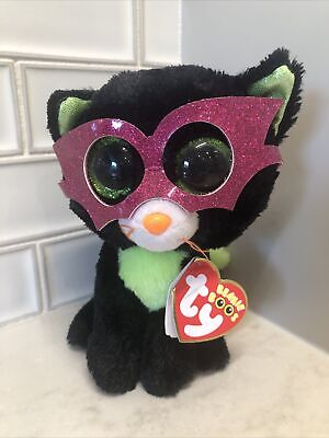Mint With Tags Ty Beanie Boos JINXY The Halloween Cat