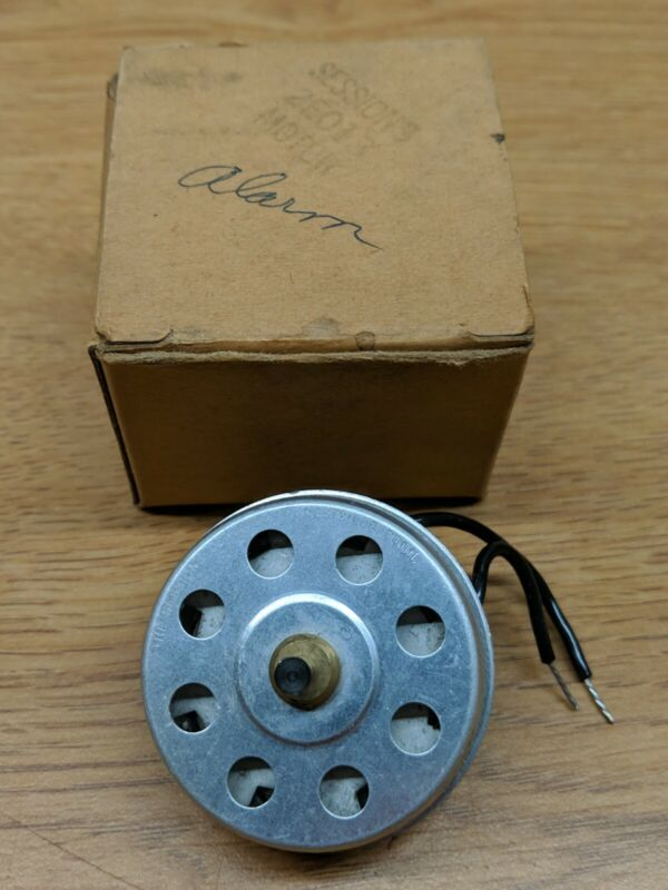VINTAGE CLOCK ELECTRIC MOTOR- SESSIONS