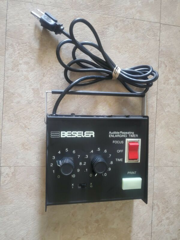 Beseler 8177 Audible/Repeating Enlarging Timer for Photography Darkroom Vintage