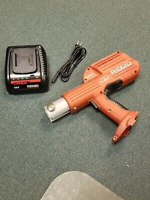 Ridgid Compact 100b Propress Copper Crimper Tool Only Charger