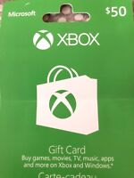 XBOX GIFT CARD 50$ for $40