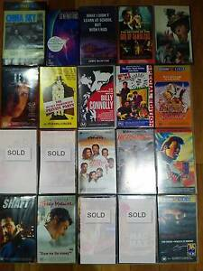 16 VHS Video Movies - $2 each Comedy Action Drama Sci-Fi Foreign Allawah Kogarah Area Preview