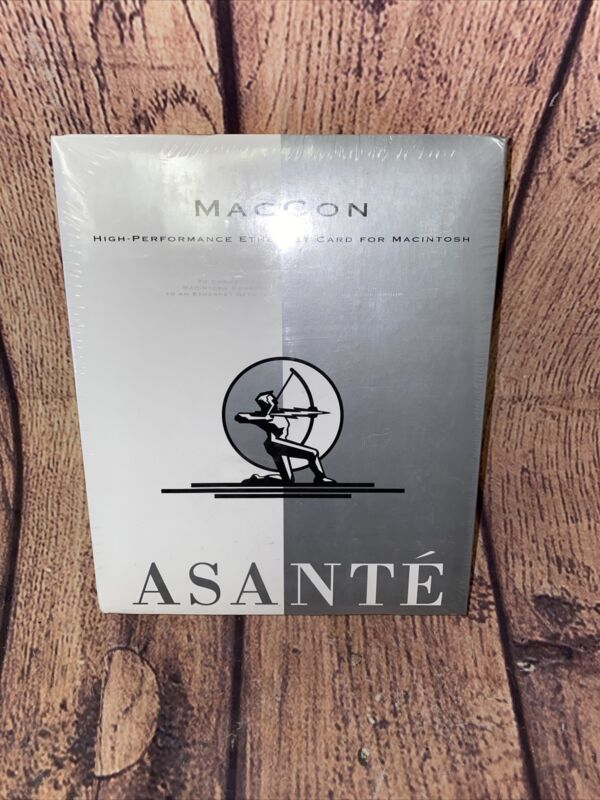 ASANTE Maccon High Performance Ethernet Card for Macintosh MCiLC-10T