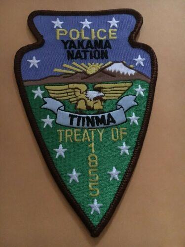 Yakama Nation Washington Police patch
