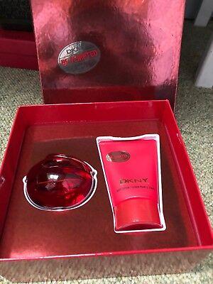 DKNY Be Tempted 1.7 oz EDP Spray 3.4 body lotion Womens Perfume Gift Set NIB