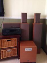 Nad T743 Tuner Surround Sound Amplifier & Yamaha speakers Kingsley Joondalup Area Preview