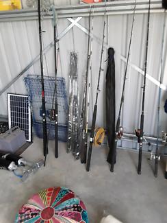 Garage sale 521 green valley road bagdad 17th 18th fishing