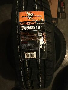 Winter tires - 195/65R15