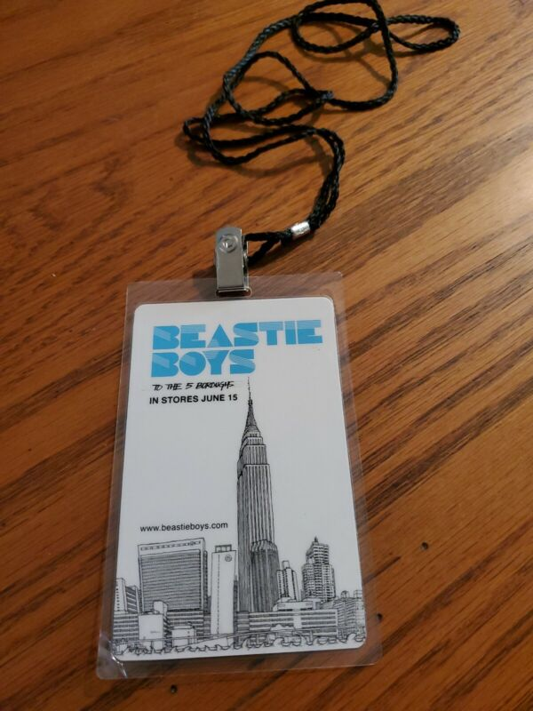 """BEASTIE BOYS TAG FOR """"TO THE 5 BOROUGHS """""""