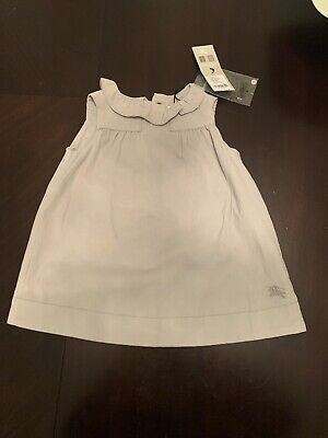 Authentic Burberry Baby Dress 9 Months