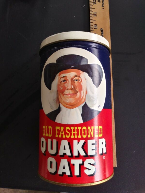 Quaker Oats Metal Canister 1982