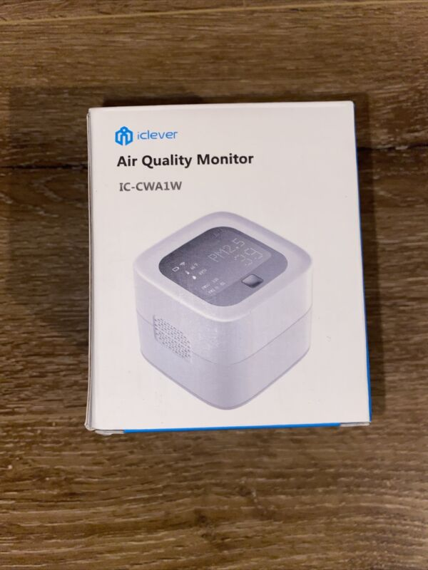 iClever Air Quality Monitor IC-CWA1W