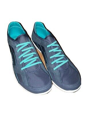 ladies trainers Clarks Arbor Jade navy size 7.5 new womens shoes