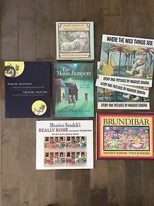 Maurice Sendak collection of books.