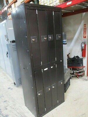 Misc. Brand 8-section Locker Cabinet Locker Size 35x6x20 Used
