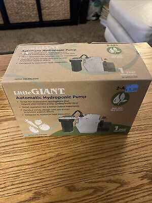 Little Giant 551021 2-abs Automatic Hydroponic Pumps Nib
