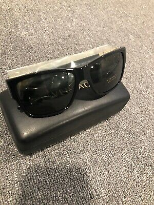 NWT Versace Sunglasses VE 4296 GB1/87 Black / Gray 59 mm VE4296 GB187 NIB