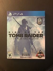 PS4 Game - Tomb Raider - Rise of the Tomb Raider