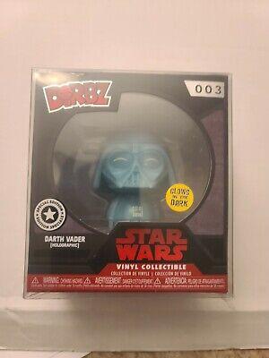 Disney Store Expo '17 Star Wars Darth Vader #03 Dorbz Funko NIB Holographic GITD