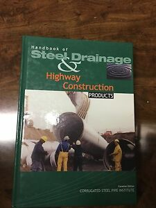 Handbook of Steel and Drainage Highway Construction Products