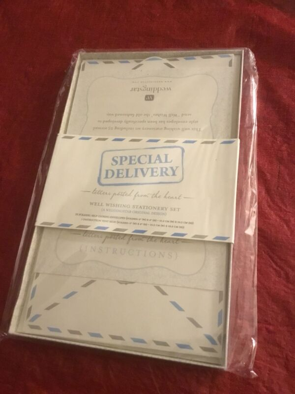 """Special Delivery"""" Airmail Stationery Set"""