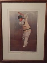 Steve Waugh limited edition print by Darcy Doyle Coorparoo Brisbane South East Preview