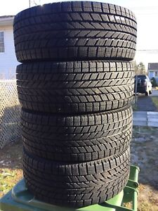 P205/55/16 inch Winter Tires on Rims / LIKE NEW / GOOD DEAL
