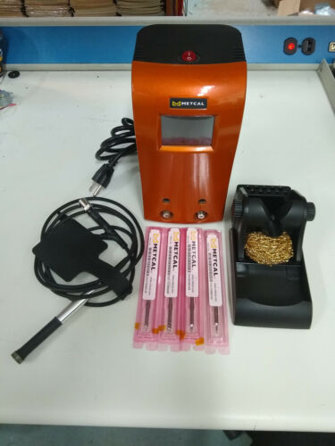 Metcal CV-5210 Soldering Station w/ 4 Tips *Almost Brand New*