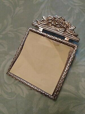 Silver Plated Note Pad Holder For 3 Notepads