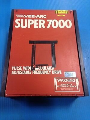 Used Vee-arc Super 7000 Adjustable Frequency Drive 922-008 3hp 3e