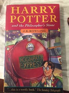 Livre Harry Potter and the philosopher's stone Book 1-5-7