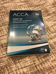ACCA paper F8 audit and assurance practice & revision kit
