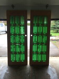 Double French doors
