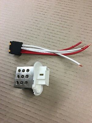 heater resistor + plug connector blower motor rheostat renault master wire fan