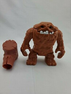 "Fisher Price Imaginext DC Super Friends 5"" brown Clayface Figure with Hammer"