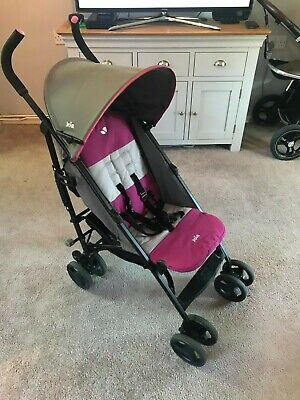 Joie Nitro Charcoal Pink Pushchair / Stroller / Buggy