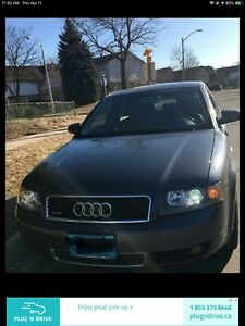 Audi A4 1.8T All wheel drive luxury reliable German engineering
