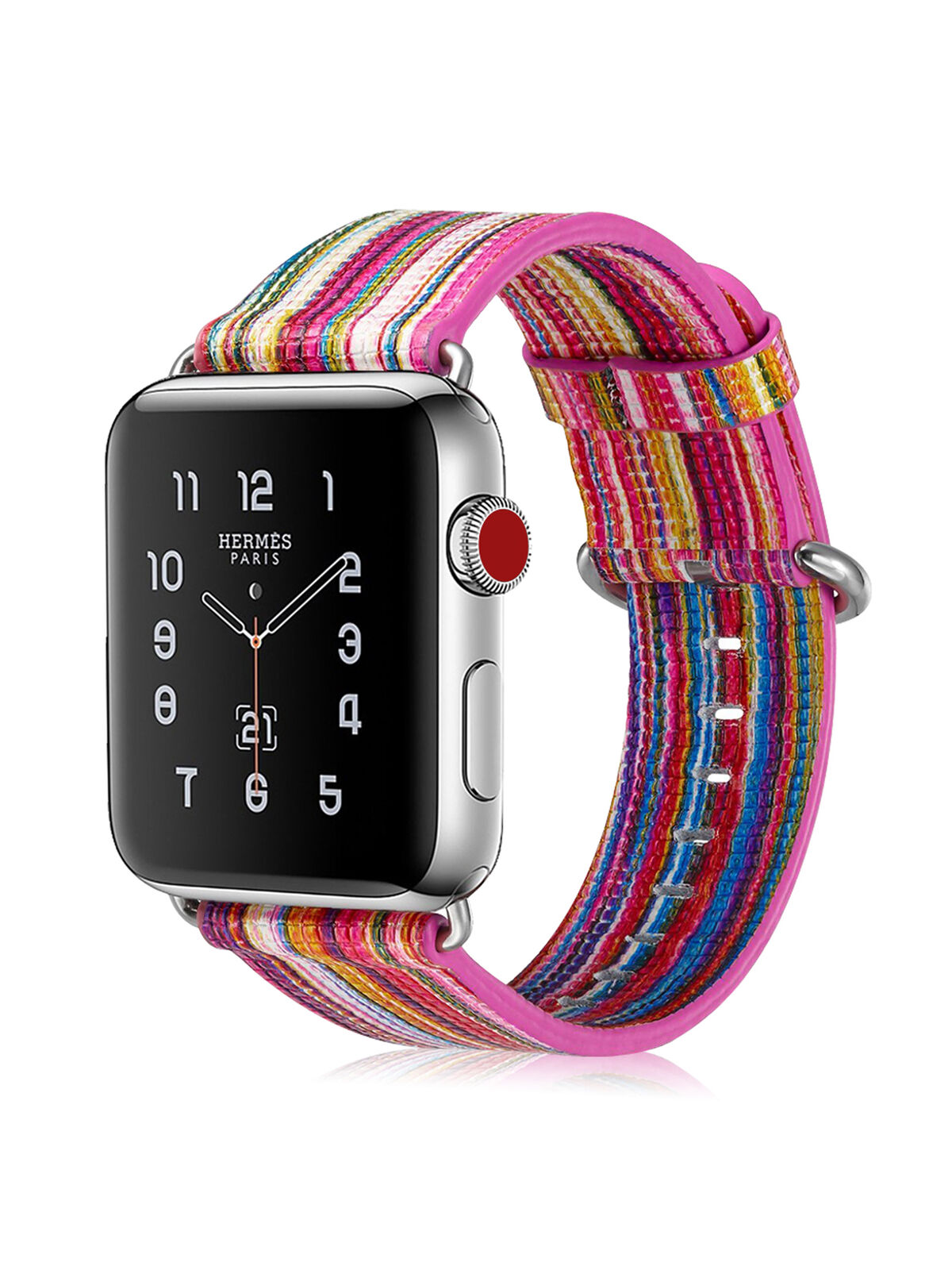 Für Apple Watch 38mm Series 3/2/1 Sport & Edition Armband Uhrenarmband Edelstahl