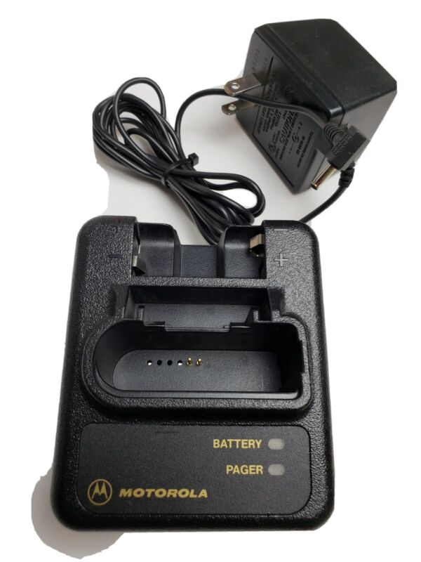New NOS Motorola NYN8346 Fire EMS  Minitor III & IV 3 4 Pager Battery Charger