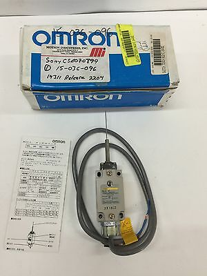 New In Box Omron Touch Switch Nl2-c