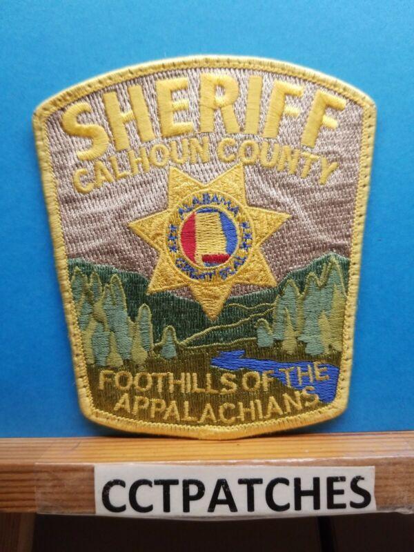 CALHOUN COUNTY, ALABAMA SHERIFF (POLICE) SHOULDER PATCH AL