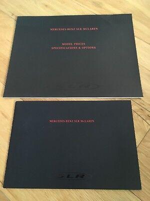Mercedes Mclaren SLR Brochure and Price List 2004